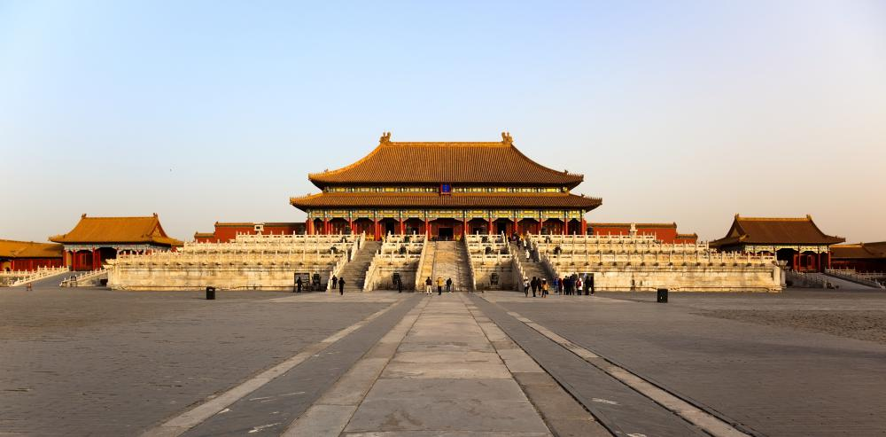 Travelers should use common sense when visiting tourist areas, like the Forbidden City in China.
