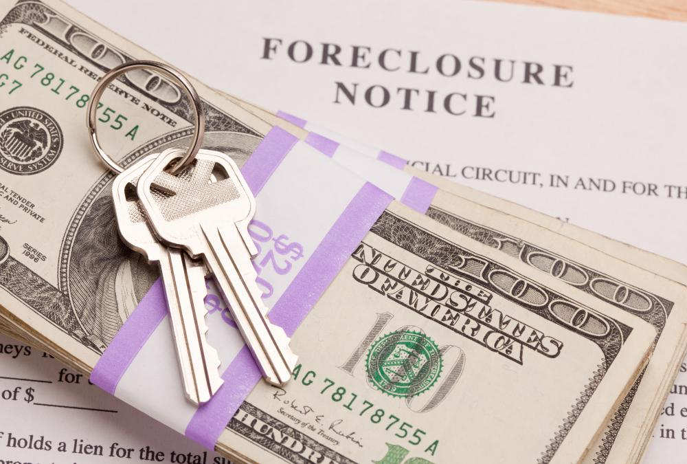 Homeowners may receive cash for vacating their foreclosed home.