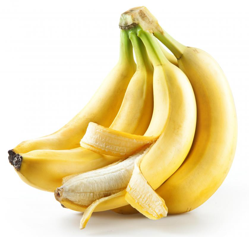Bananas are a healthy snack option.