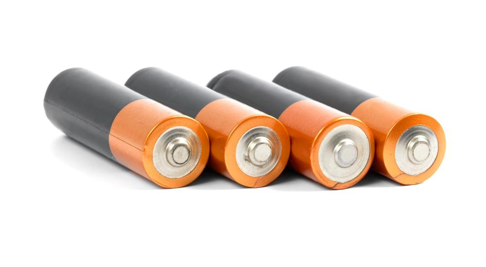 Batteries may be useful in a disaster kit.