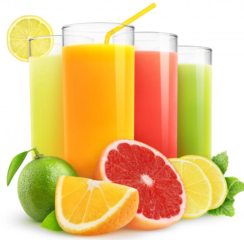 Organic fruit and vegetable juices are a major component of Gerson therapy.
