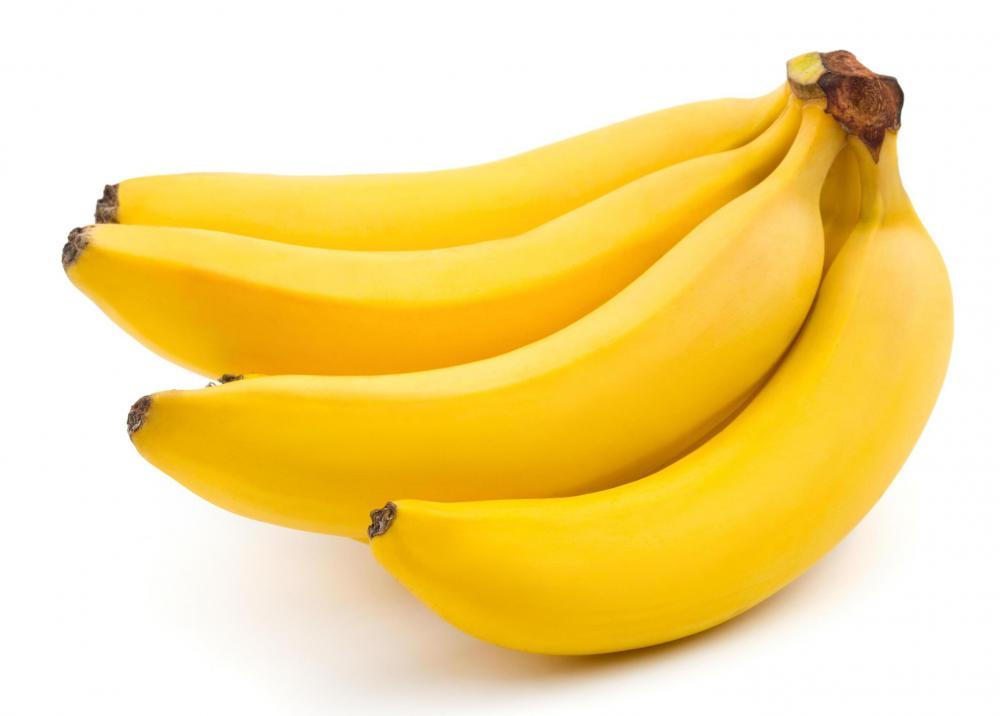 Bananas are often good for an upset stomach.