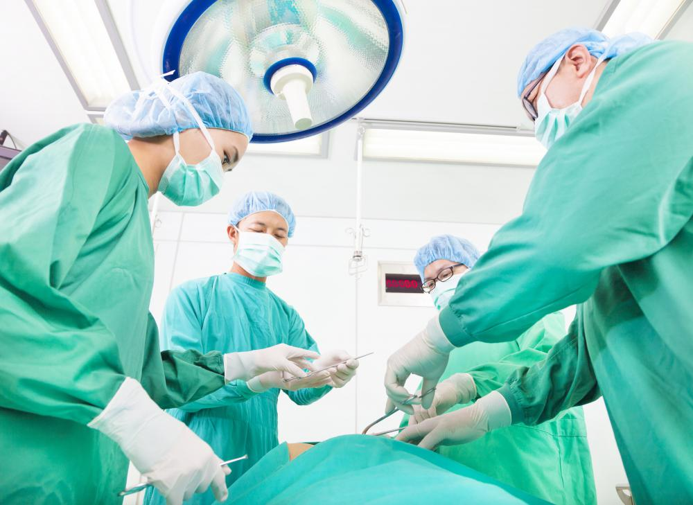 Surgery may be required to treat a hernia.