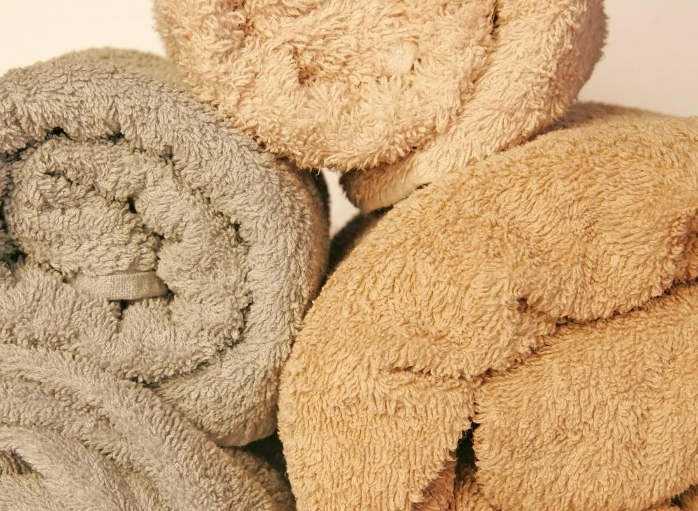 A warm towel may be applied to a boil to relieve pain.