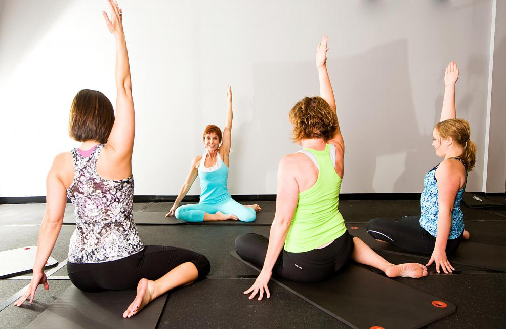 Some stretches used in Pilates are based on complementary yoga movements.