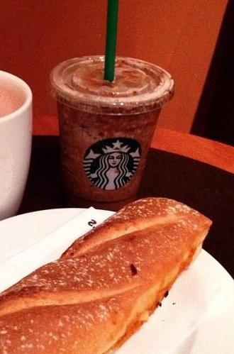 Starbucks' food and beverages are the same throughout the world.