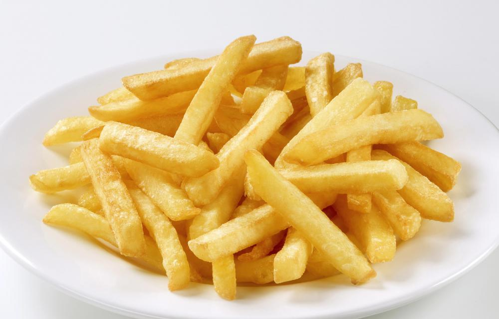 Honey mustard is often served with french fries.