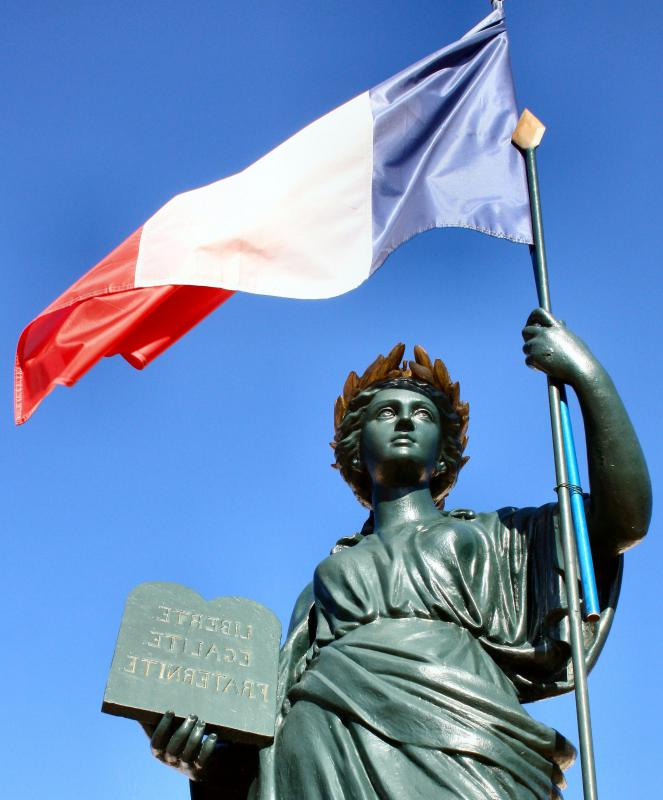 The French Revolution was inspired in part by the Enlightenment and by the American Revolution.