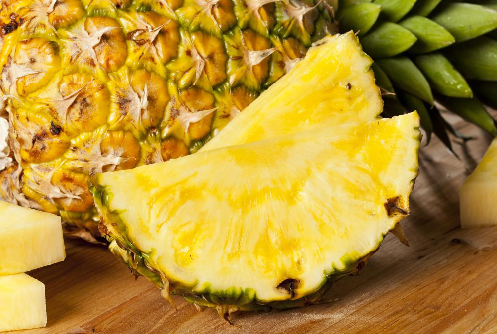 Bromelain tablets are derived from the protein-digesting enzymes found in pineapple.