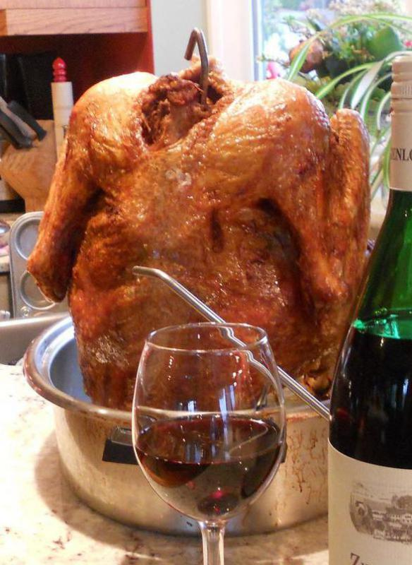 Some chefs claim deep frying is the best way to cook a Thanksgiving turkey.
