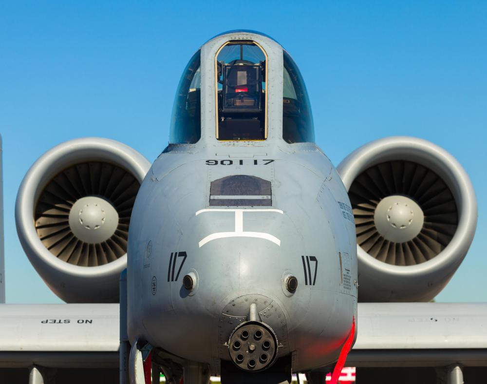 Air Force Special Operations personnel might coordinate target selection with ground support aircraft like the A-10.