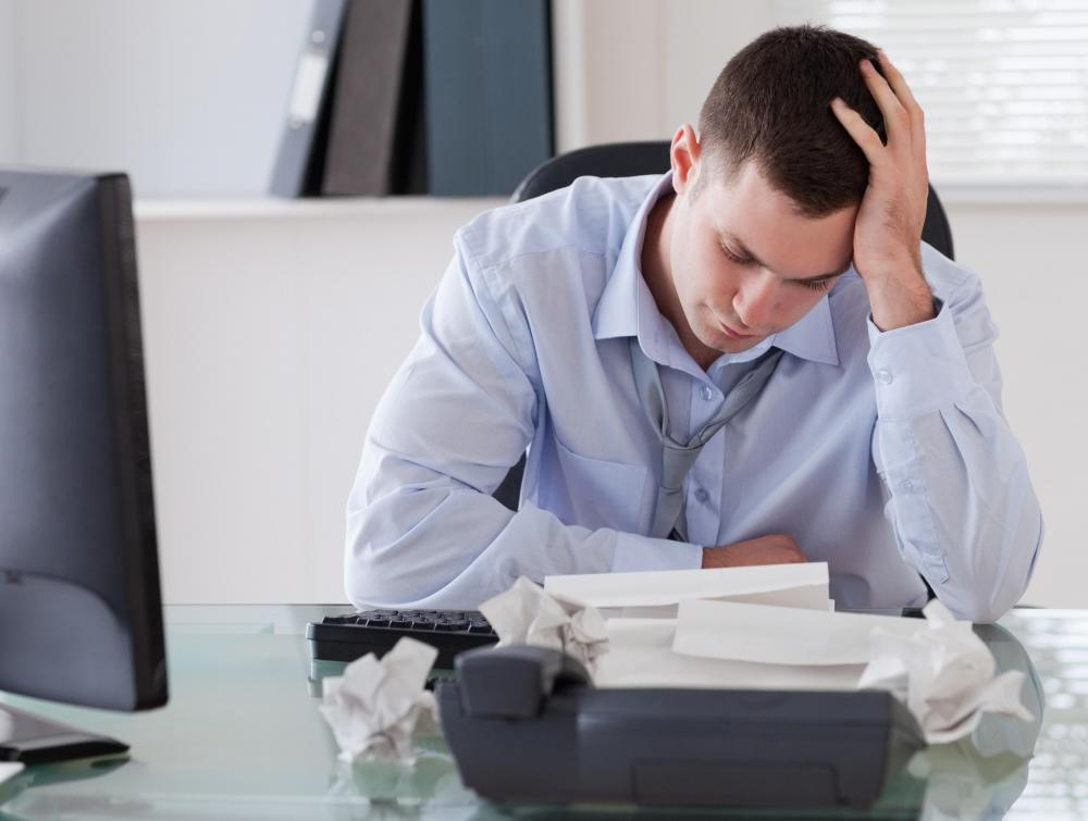 Someone dealing with job stress might seek a vocational counselor's help.