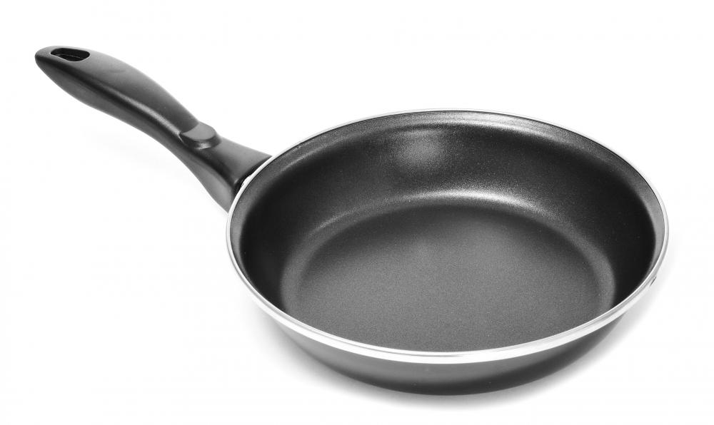 Protective coatings used in pans keep food from sticking.