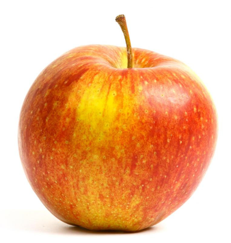 Eating an apple at the end of a meal can help clean the teeth.