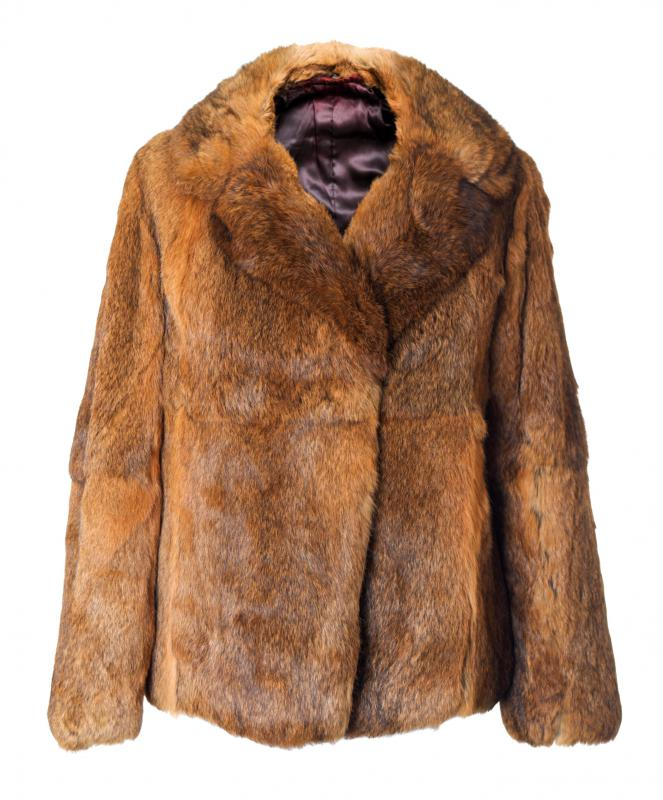 The pelts of animals are called furs and are used to make fur coats.