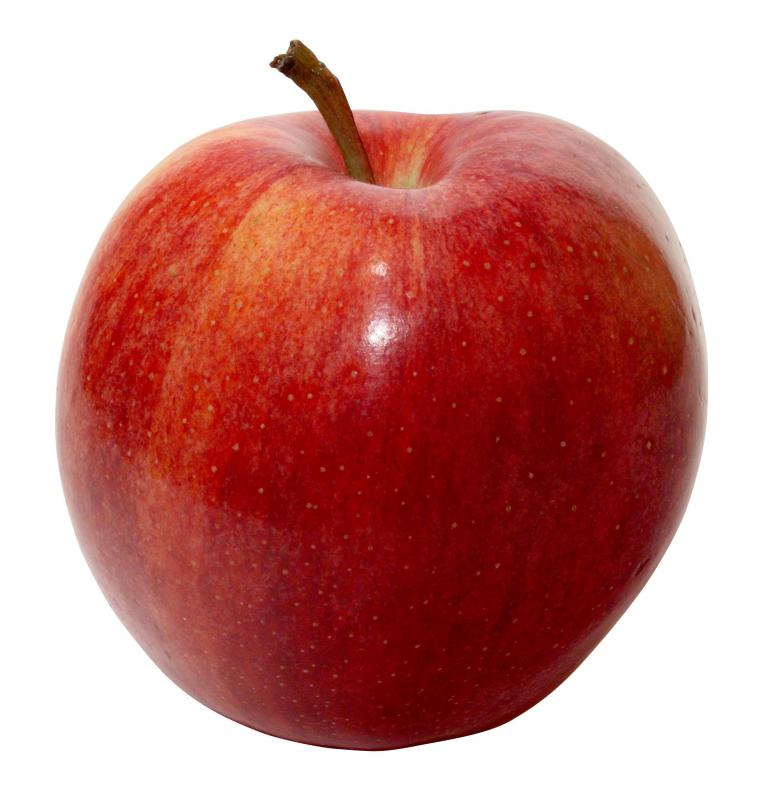 Apples contain a significant amount of dietary fiber.