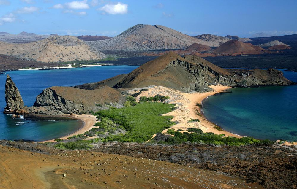 Located in Ecuador, the Galapagos Islands are a UNESCO World Heritage Site.