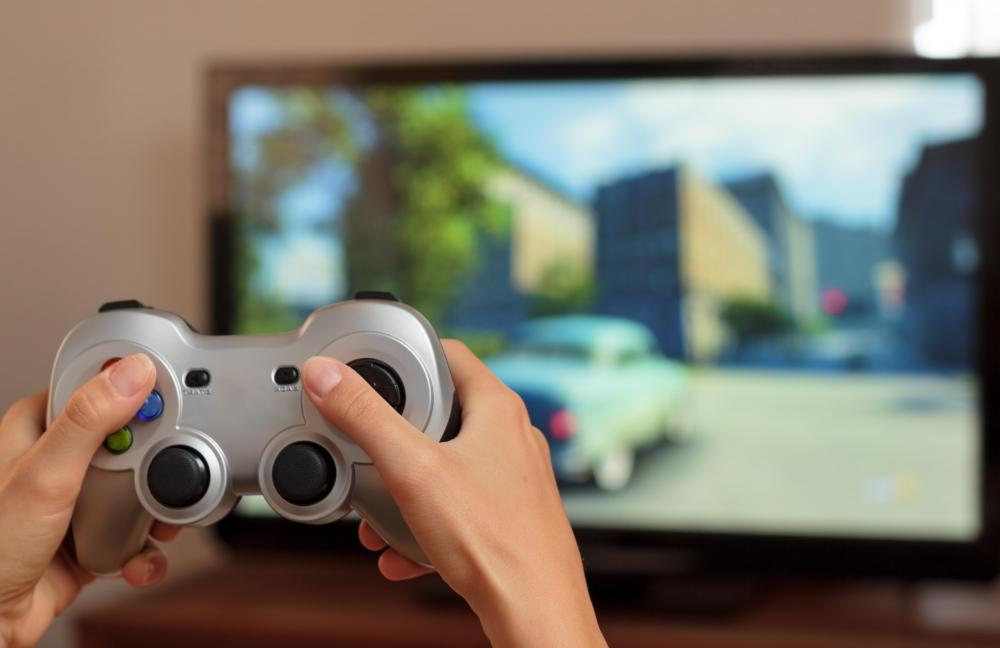 Wireless game controllers don't need cords to control the on-screen action.