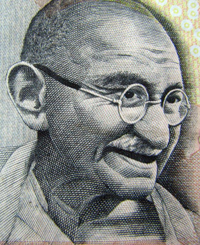 The hunger strike technique of protest is strongly associated with Mohandas Gandhi.