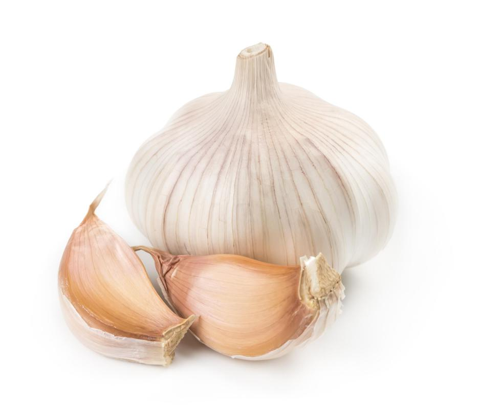 Garlic can be added to many foods as an herbal antibiotic.