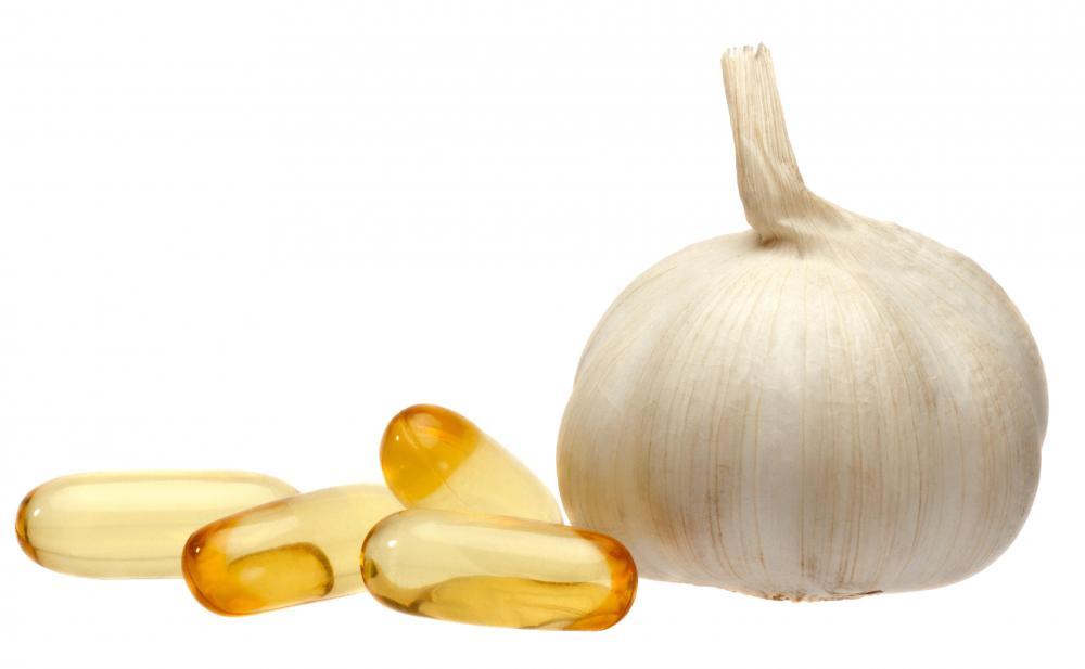 Garlic is anti-bacterial, anti-fungal, and helps boost the immune system.
