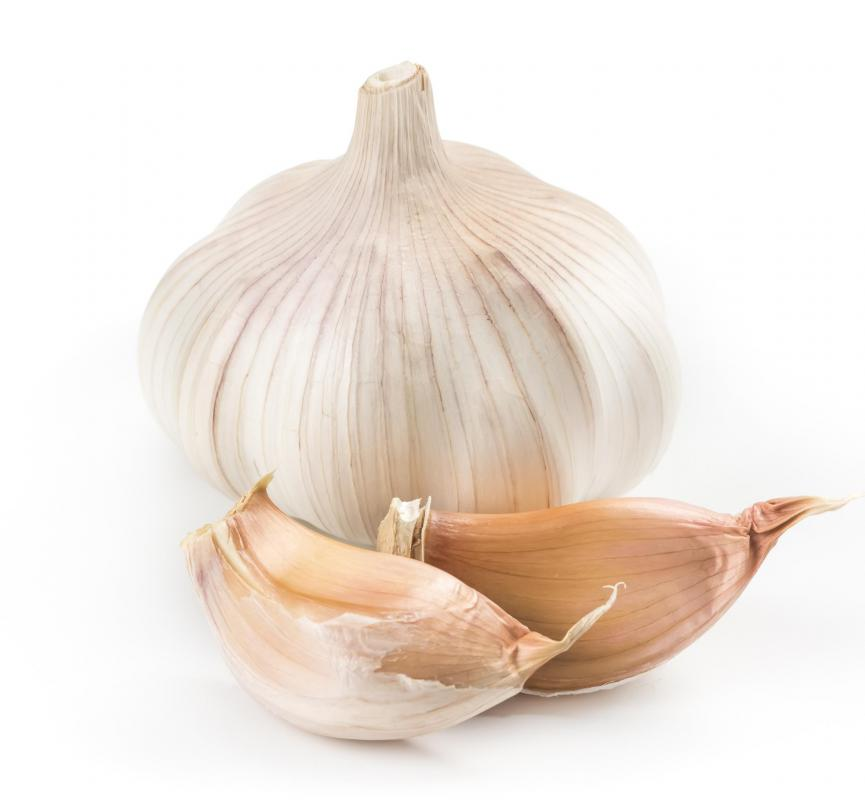 Garlic may help reduce gas production.