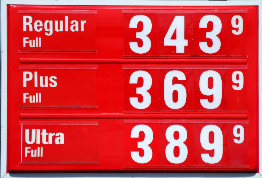 The price of a gallon of gas includes any federal gas tax.
