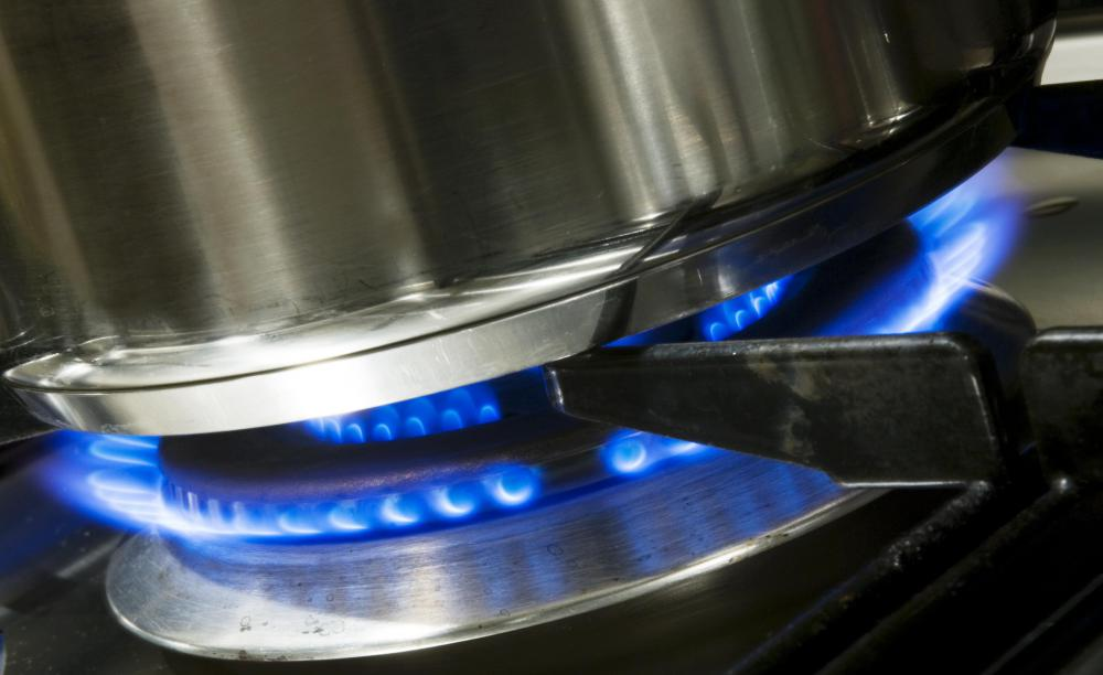 Take Care When Lighting The Pilot On A Gas Stove, Especially If You Smell  Gas In The Air.