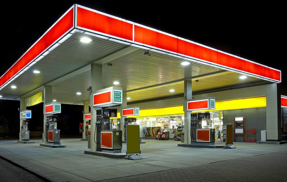Service stations provide a retail outlet for the gas industry.