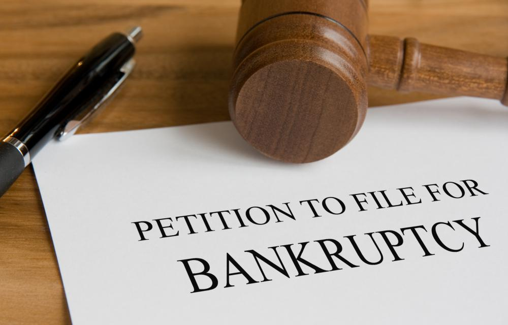 Through the act of bankruptcy, a person declares the inability to pay his or her debts.