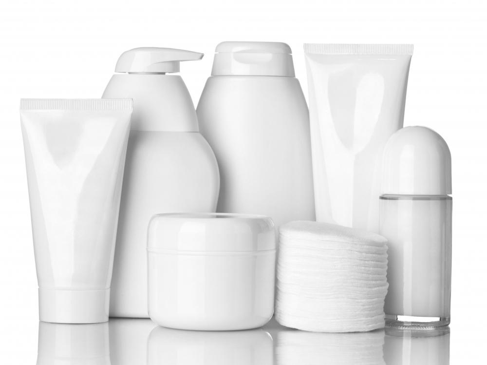 Fragrance may be included in some skin care products.