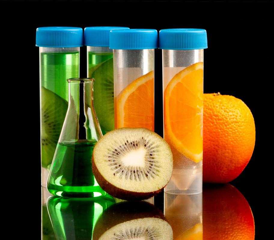Kiwis, oranges and other fruits have been genetically engineered to be resistant to certain herbicides.
