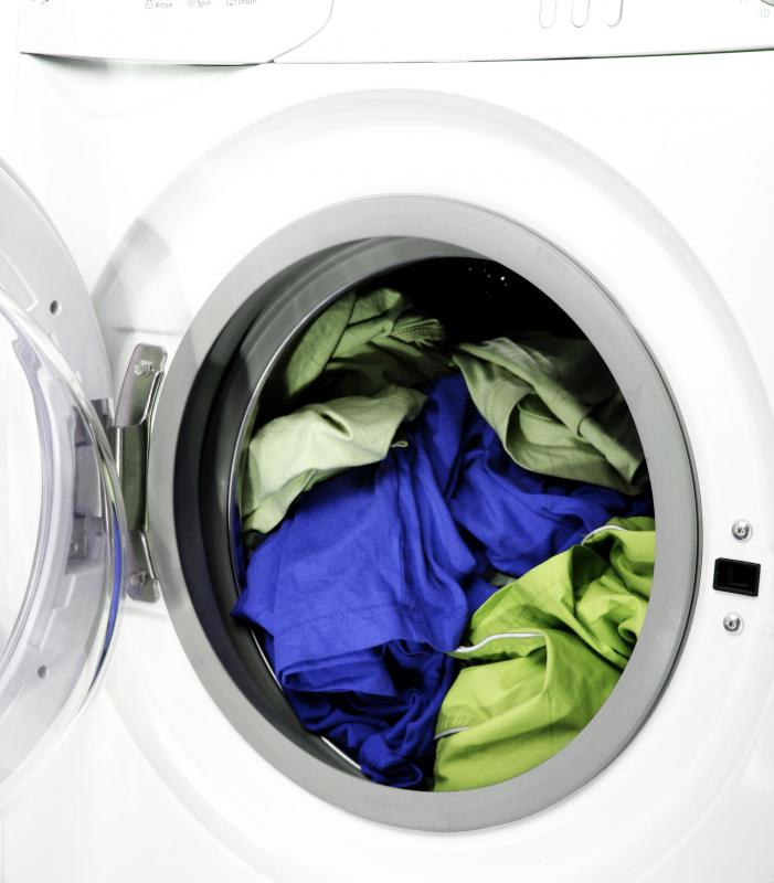 Front-loading washing machines do not use an agitator and are therefore gentler on clothes.