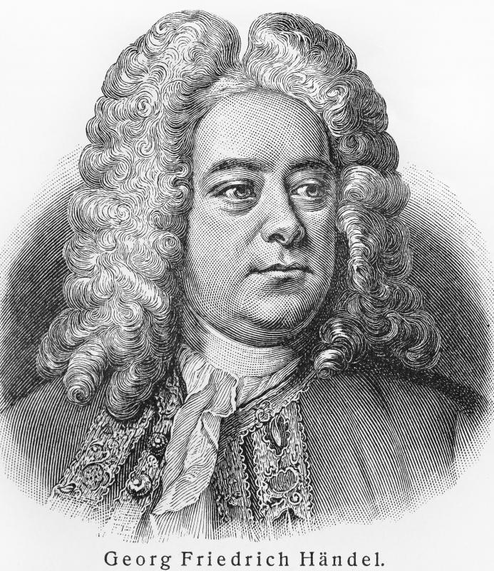 Handel wrote music featuring the Baroque trumpet.