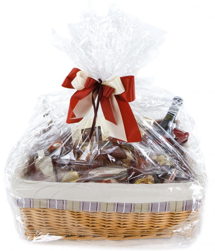 a gift basket for a raffle