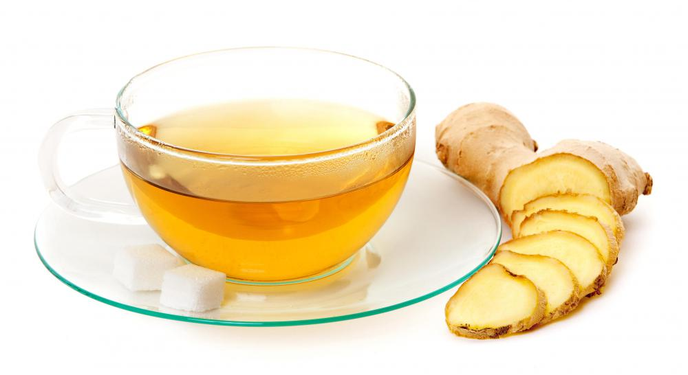 Ginseng root is often used to make ginseng tea.