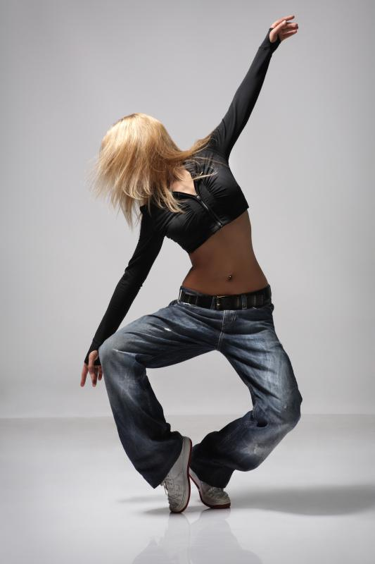Freestyle dancing is used as a form of self expression.
