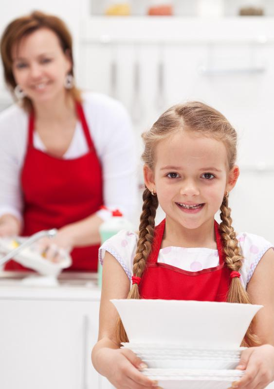 Children learn problem solving skills when they do chores.