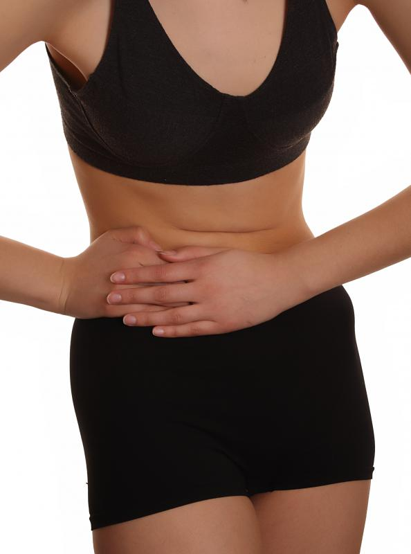 Round ligament pain may occur as a result of appendicitis.