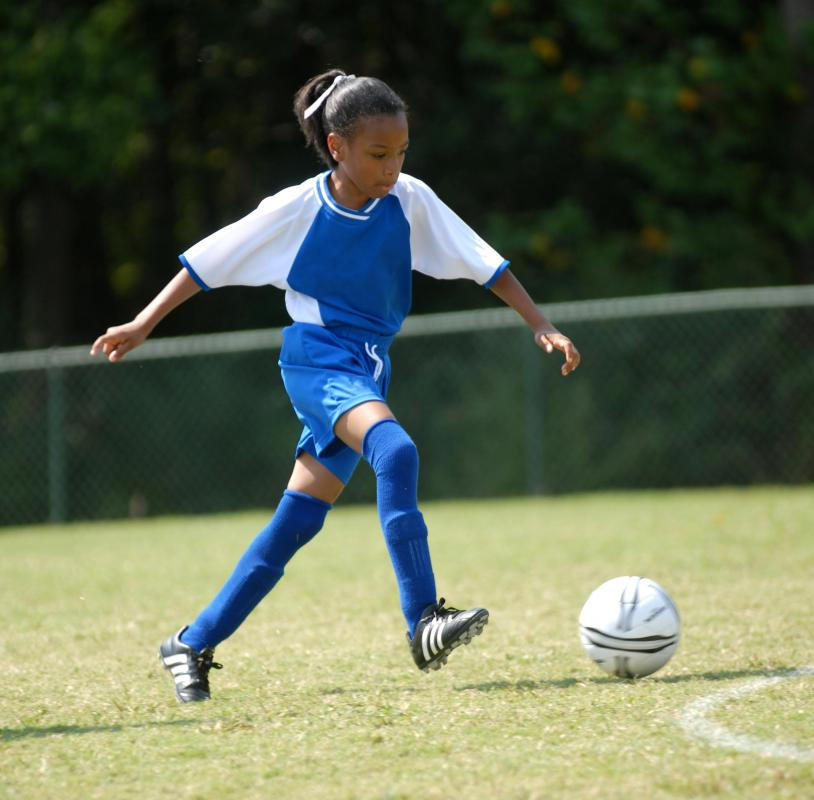 Involvement in sports can teach children a variety of social skills.