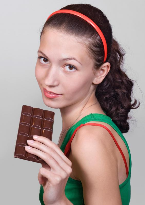 Chocolate is thought to act as a stimulant for women because of its aphrodisiac properties.