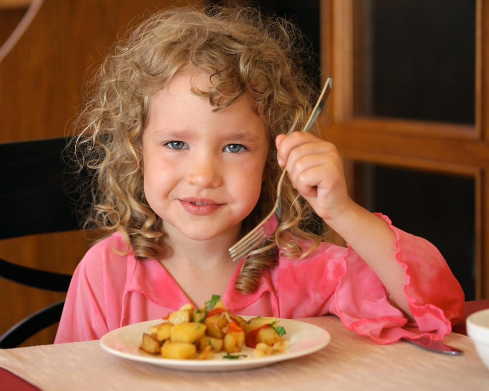An inadequate quantity of protein in a child's diet can cause her immune system to decline.