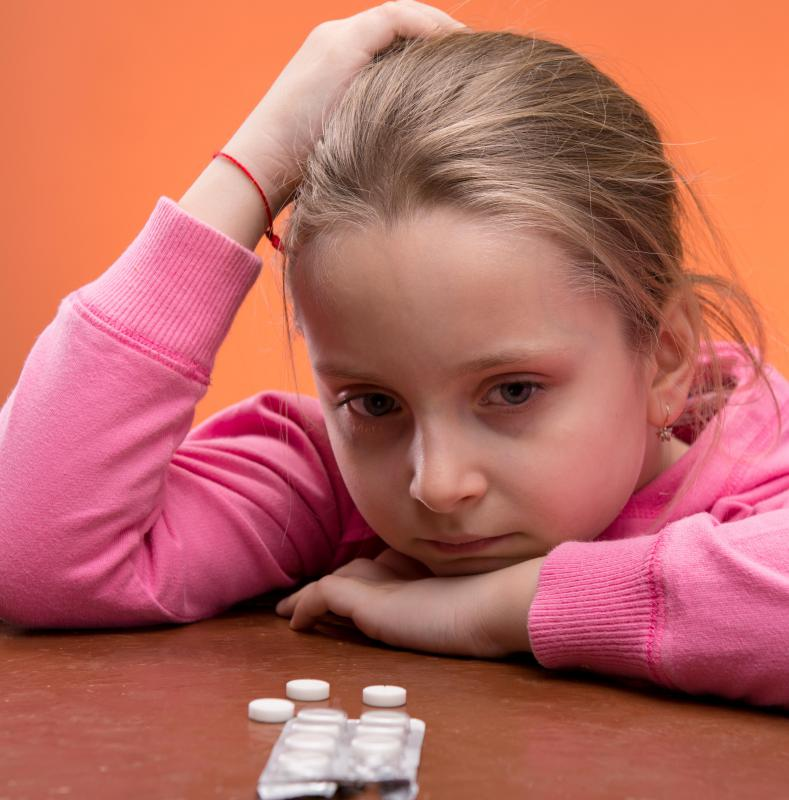 A child psychologist can help a child cope with the medications that she or he is taking.