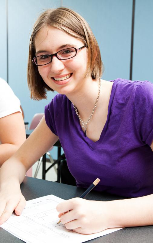 Doing well in school or work can often increase a teen's self-esteem.