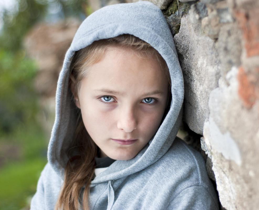 Girls often face more issues with self-esteem than boys during adolescence.