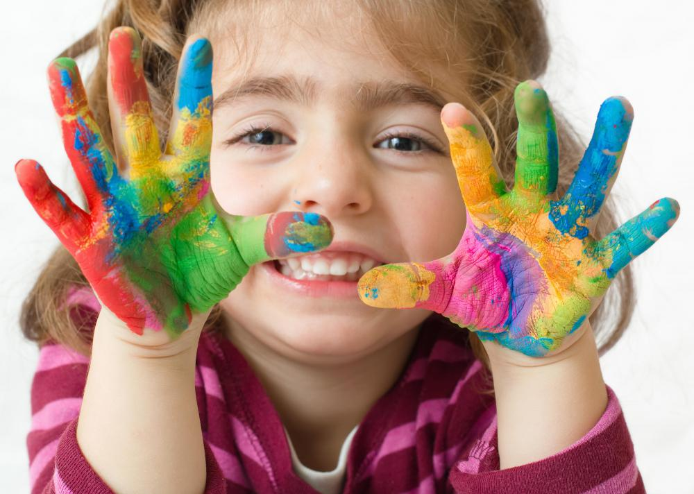 a childs preferences and developmental level should be considered when choosing paint - Children Painting Images