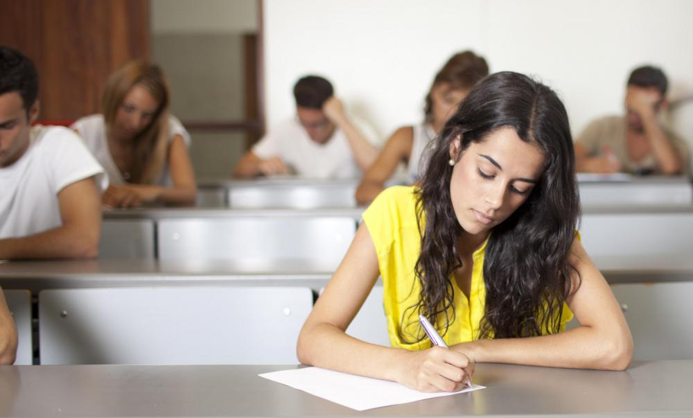 Test anxiety can be relieved in a few simple steps.