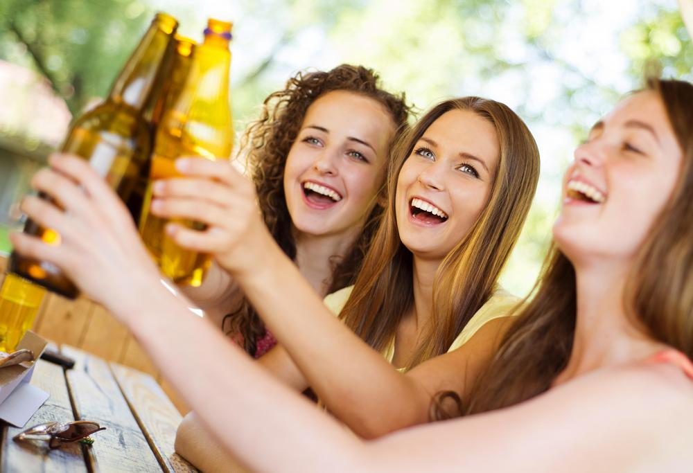 Excessive alcohol consumption may affect the liver parenchyma.