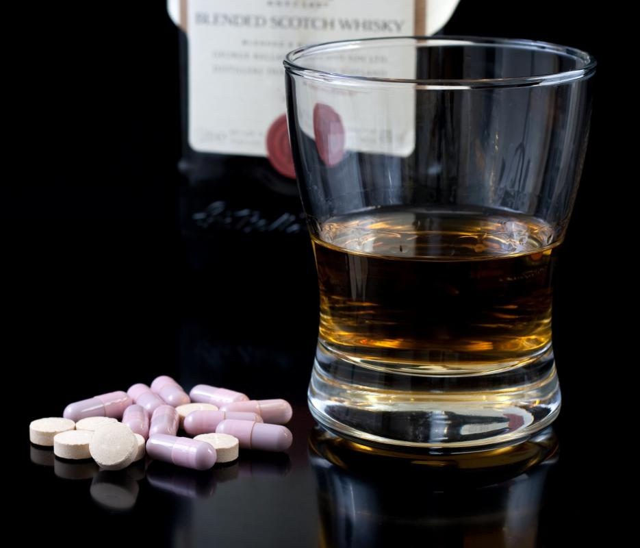 Clindamycin and alcohol are both absorbed into the bloodstream very quickly.