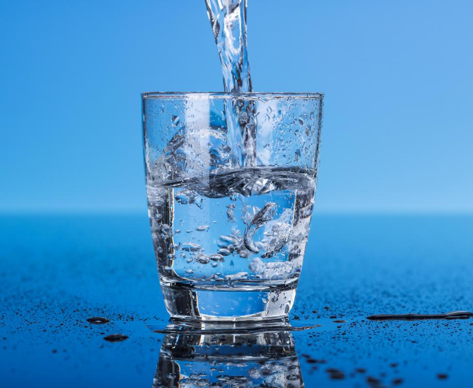 Only water is consumed for a 24 hour period in order to do a proper water detoxification.